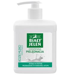 Biały Jeleń Premium Mydło w płynie Kozie mleko 500 ml