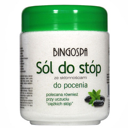 BingoSpa Sól d/s ze skłonością do pocenia 550g