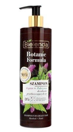 Bielenda Botanic Łopian+Pokrzywa Szampon d/w przetłuszczających się 400ml