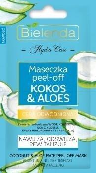 Bielenda Kokos&Aloes Maseczka Peel-Of 2x5g