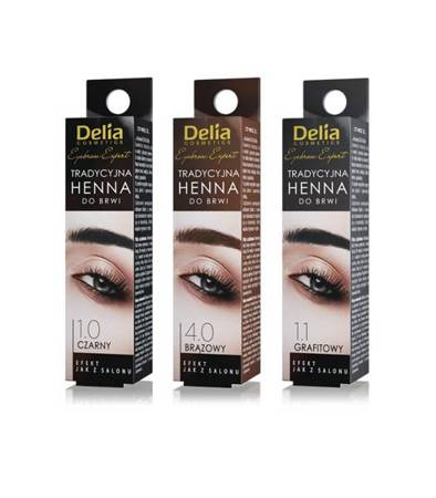 Delia Henna d/b 1.0 Czarna Tradycyjna