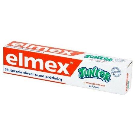 Elmex Pasta Junior 7-12 lat 75ml