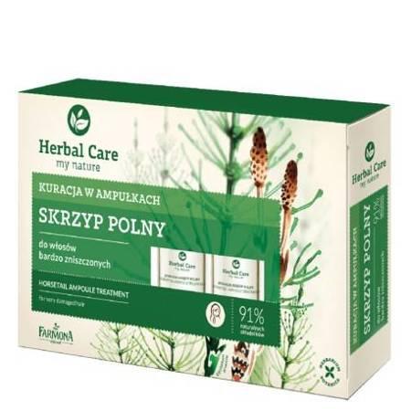 Herbal Care Kuracja w ampułkach do włosów Skrzyp polny 5x5 ml
