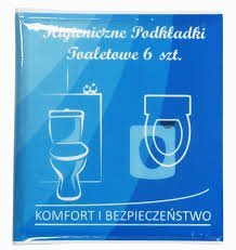 Inter-Vion Podkładki Higieniczne Toaletowe 6szt